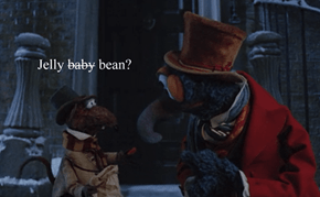 Meanwhile in A Muppet Christmas Carol.
