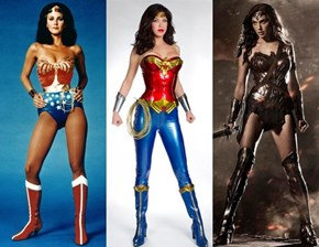 I Think Wonder Woman Is Allergic to Straps