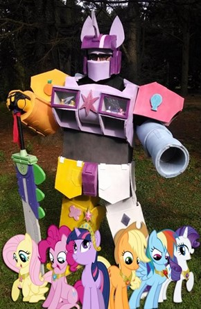 The Megazord of Harmony