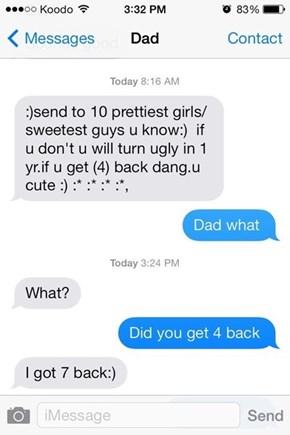 Dad Pls...