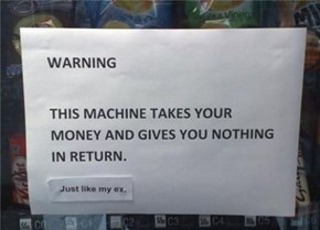 You Ruined Me, Vending Machine!