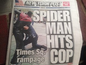 J. Jonah Jameson Runs the New York Post Now?