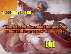 Don't kill.  Kill them.  LOL...