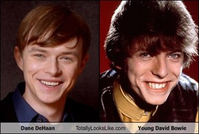 Dane DeHaan Totally Looks Like Young David Bowie