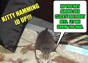KITTY HAMMING ID UP!!!