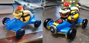 Mario Kart Happy Meal Toy Gets a Makeover