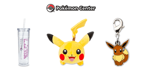 Online Version of the Pokémon Center Store Opening on August 6th