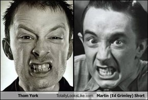 Thom York Totally Looks Like Martin (Ed Grimley) Short