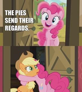 The Pies send their regards