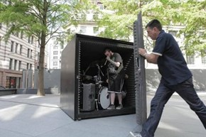 A Death Metal Band Will Perform in This Air-Tight Box Until They Run Out of Oxygen... Because METAL