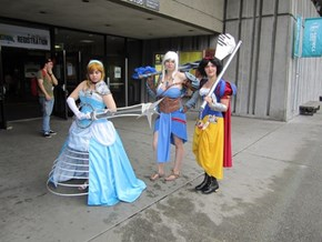 These Disney Princesses Don't Need No Keyblade Master