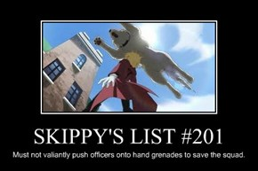 SKIPPY'S LIST #201