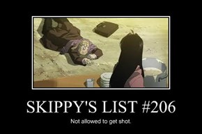 SKIPPY'S LIST #206