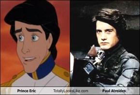 Prince Eric Totally Looks Like Paul Atreides