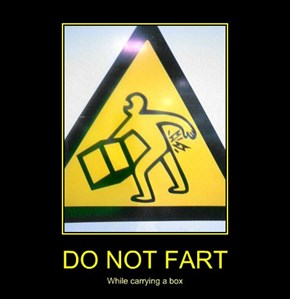 DO NOT FART