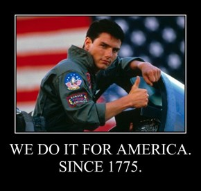 WE DO IT FOR AMERICA. SINCE 1775.