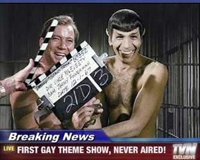 Breaking News - FIRST GAY THEME SHOW, NEVER AIRED!
