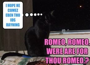 ROMEO, ROMEO, WERE ARE FOR THOU ROMEO.?
