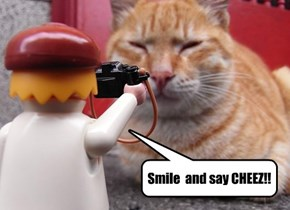 Smile  and say CHEEZ!!