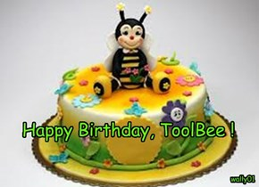 Happy Birthday, ToolBee !