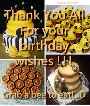Bee Day Caek !!!