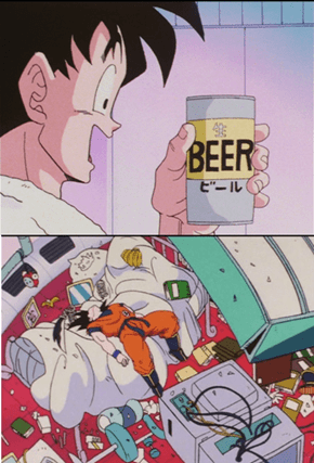 Goku is a Lightweight