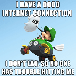First World Mario Kart Problems
