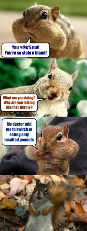 Bad squirrel humor