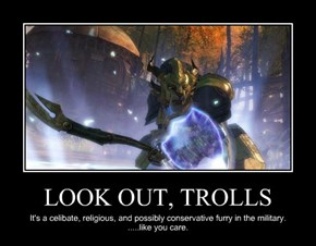 LOOK OUT, TROLLS