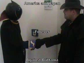 America and Japan Forever Against Brittania