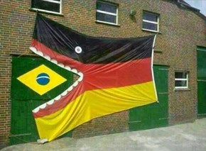 This Pretty Much Sums Up Brazil vs. Germany in the Semifinals