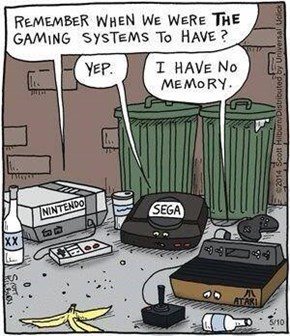 Old Game Systems Reflect on The Better Times