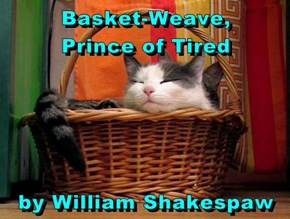 Basket-Weave,             Prince of Tired  by William Shakespaw