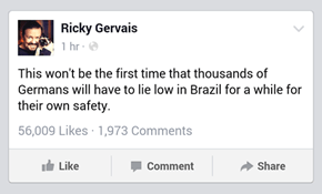 Oh Ricky. Never Change.