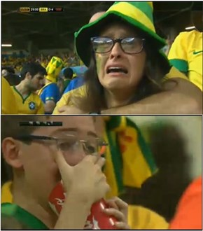 Your Brazilian tears sustain me