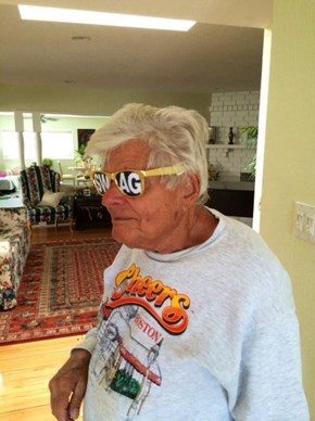 Never Too Old For Swag