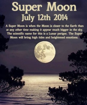 Get Ready for the Super Moon