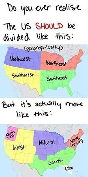 American Regions Make No Sense
