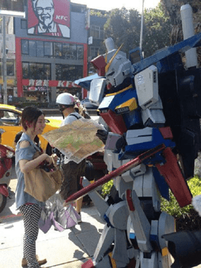 Even Gundams Get Lost Sometimes