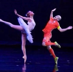 Robben on his free time