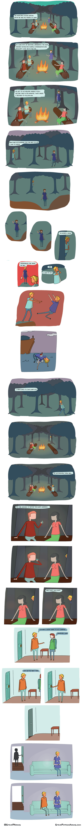 That's a Good Reason to Not Go Camping