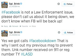 Facebook Was Down for 25 Minutes on Friday, and That Was Enough for Los Angeles Residents to Call 911