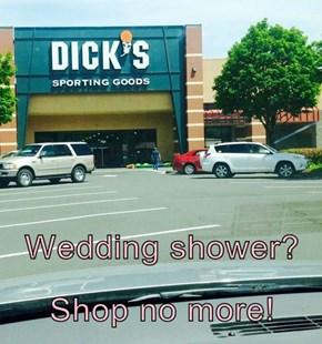 Wedding shower? Shop no more!