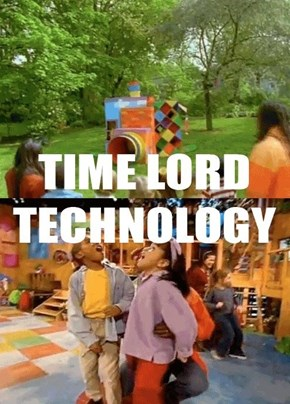 "That moment when you Realized, that the ""Out of the Box"" clubhouse had the same technology as the Tardis...."