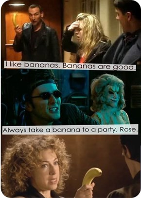 Always take a banana to a party