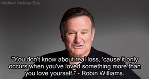 Robin Williams - Love Quote