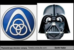 Thyssenkrupp elevator compay Totally Looks Like Darth Vader