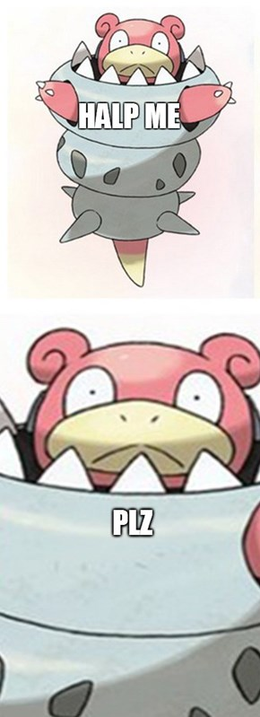 Mega Slowbro Looks Like a Beyblade