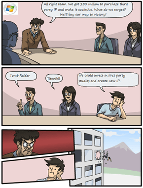 Meanwhile at Microsoft