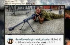 IDF child killer...